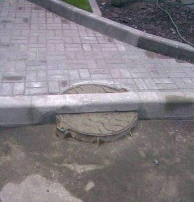 Como eles conseguiram falhar dessa maneira na construção (33 fotos) 23