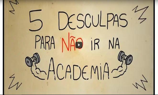 5 desculpas para não ir na academia 7