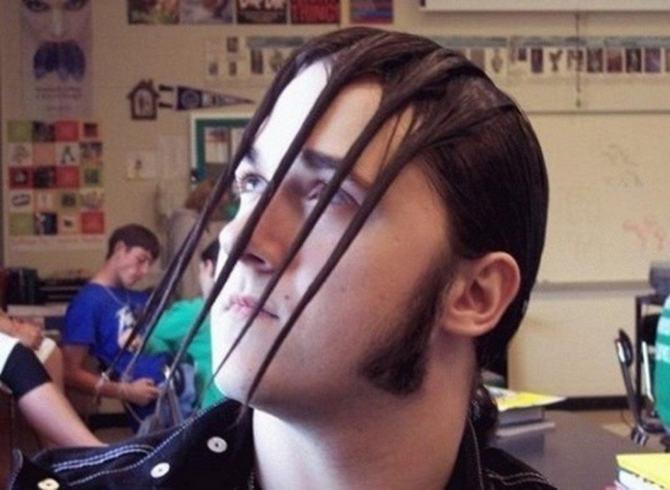 19 exemplos loucos de imaginações de corte de cabelo 3