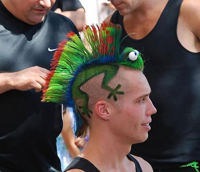 19 exemplos loucos de imaginações de corte de cabelo 7