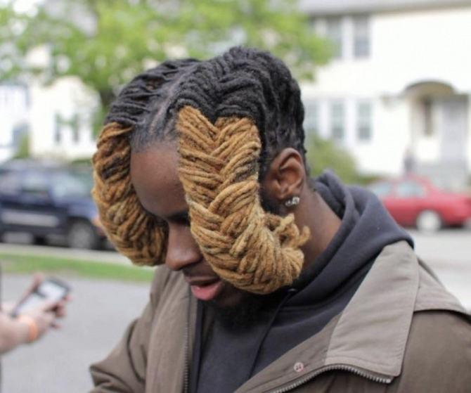 19 exemplos loucos de imaginações de corte de cabelo 11