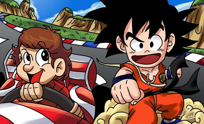 O curioso encontro de Goku com Ayrton Senna? 4