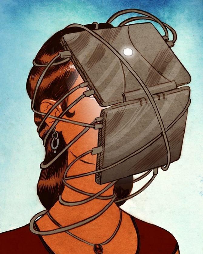 20 ilustrações poderosas mostrando o outro lado do mundo 3