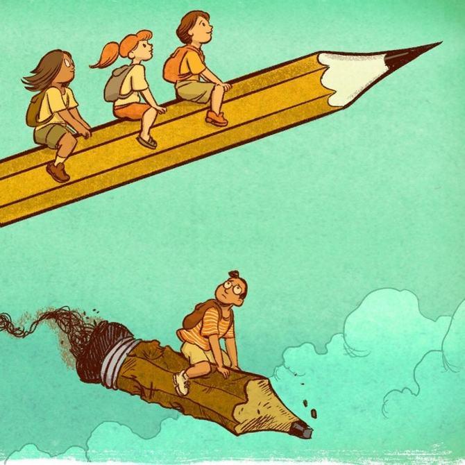 20 ilustrações poderosas mostrando o outro lado do mundo 20
