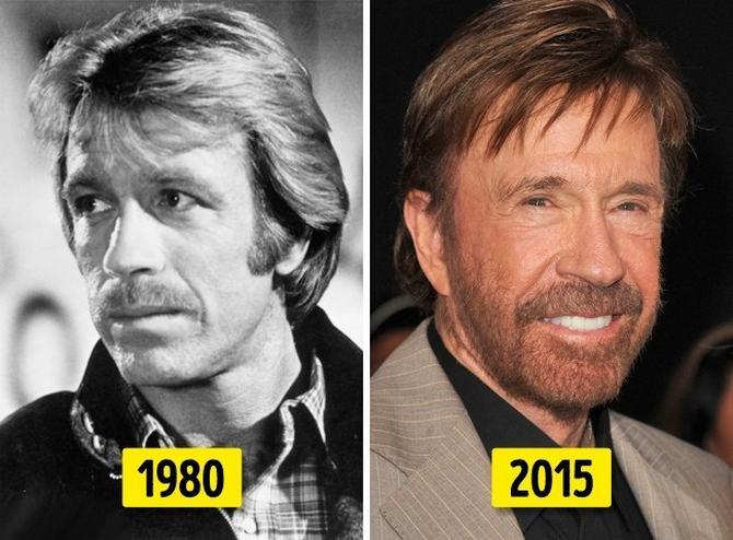 24 transformações de celebridades que o deixarão chocado 2