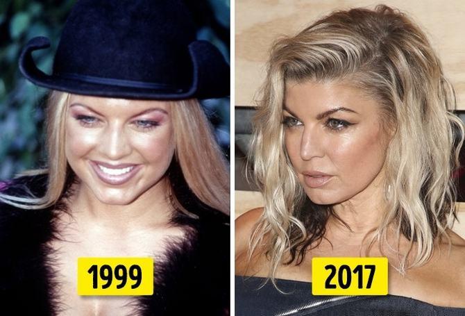 24 transformações de celebridades que o deixarão chocado 6