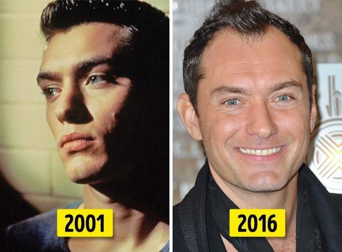 24 transformações de celebridades que o deixarão chocado 14