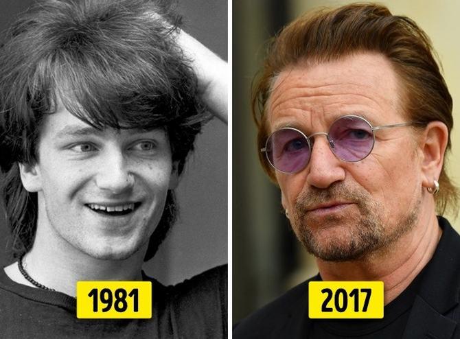 24 transformações de celebridades que o deixarão chocado 17