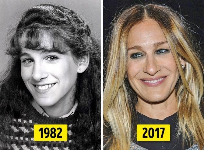 24 transformações de celebridades que o deixarão chocado 20