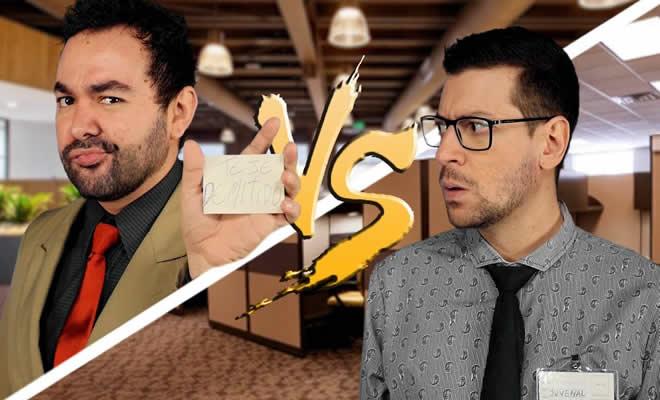 Batalha de rap: Chefe vs Funcionário 7