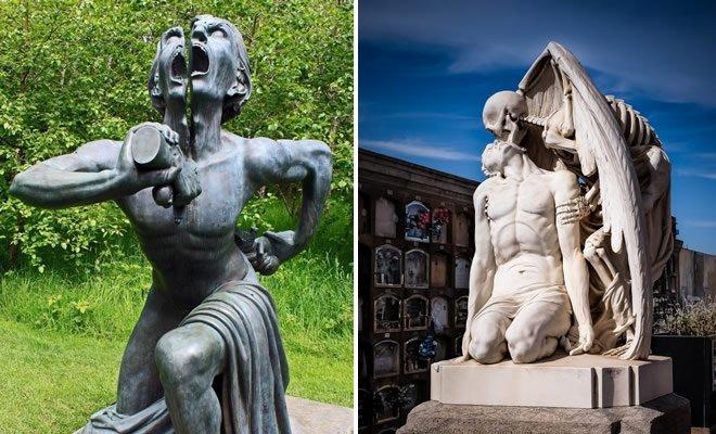 9 esculturas que assustam e surpreendem ao mesmo tempo 7