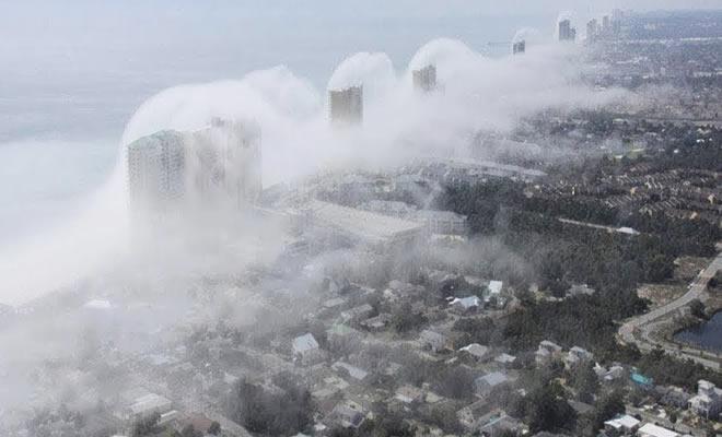 5 fenômenos estranhos captados durante furacões 3