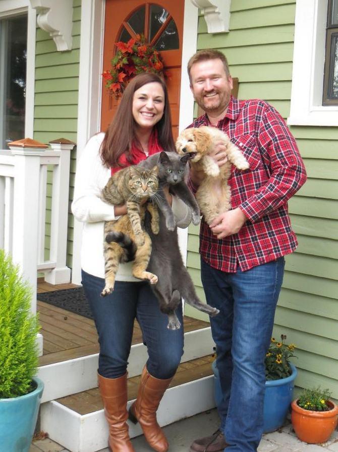 28 gatos e cachorros que tenta viver juntos, mas não funciona como gostaria 7