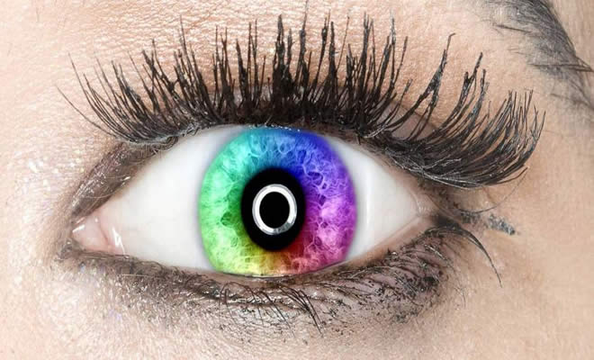 Você faz parte do 1% da população que pode ver todo o espectro de cores? Descubra! 4