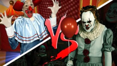 Photo of Bozo Vs It, A coisa, Pennywise