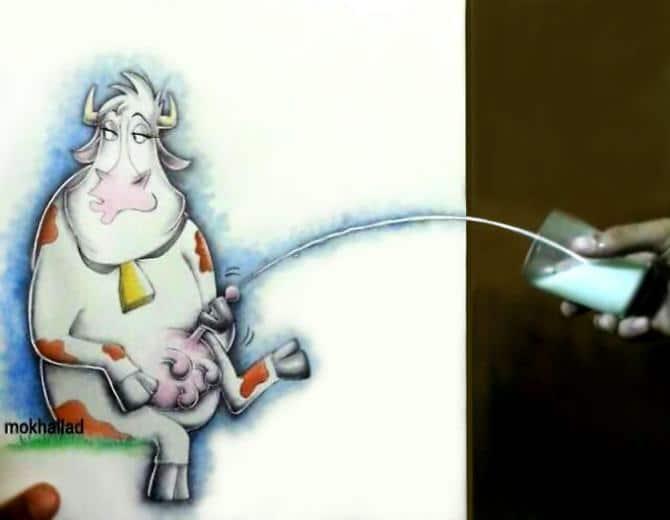 Mokhallad Habib é um farmacêutico que combinar desenhos com a vida real para fazer outras pessoas sorrir (20 fotos) 7