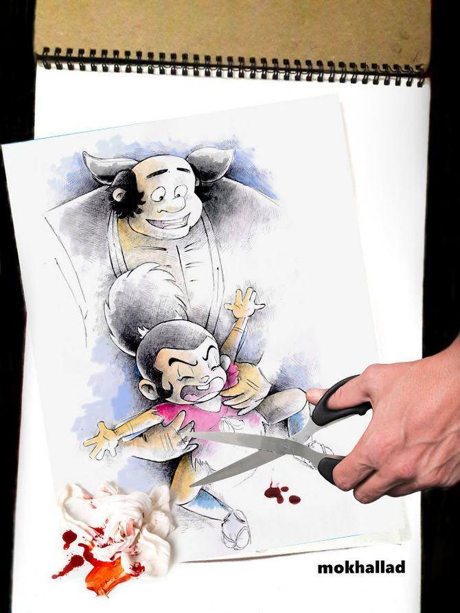 Mokhallad Habib é um farmacêutico que combinar desenhos com a vida real para fazer outras pessoas sorrir (20 fotos) 16