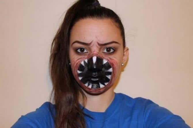 19 trajes que são realmente aterrorizantes para o Halloween 8