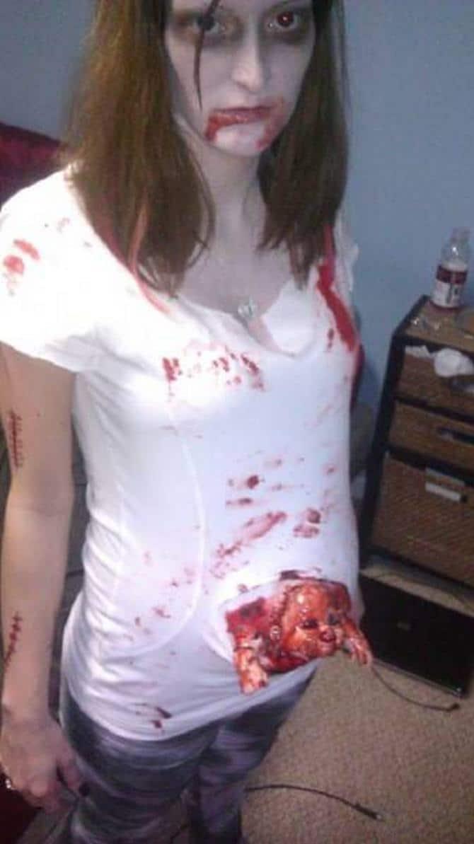 19 trajes que são realmente aterrorizantes para o Halloween 15