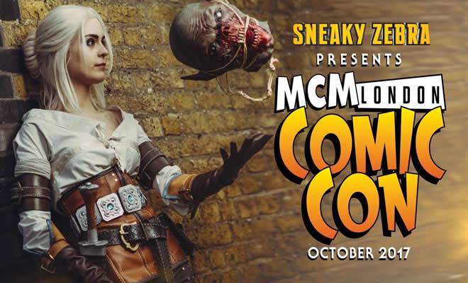 MCM London Comic Con outubro 2017