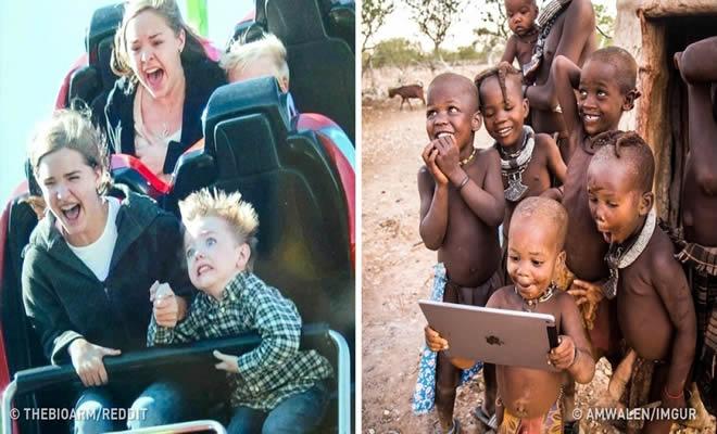 26 fotos mostrando a alegria de fazer algo pela primeira vez 3