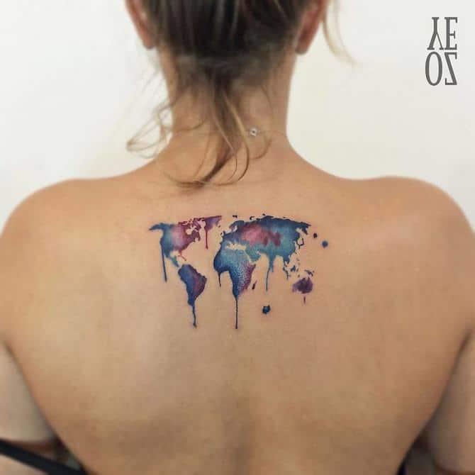 30 ideias de tatuagem de viagem que o farão querer fazer 2