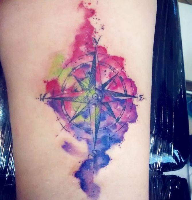 30 ideias de tatuagem de viagem que o farão querer fazer 10