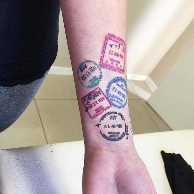 30 ideias de tatuagem de viagem que o farão querer fazer 12