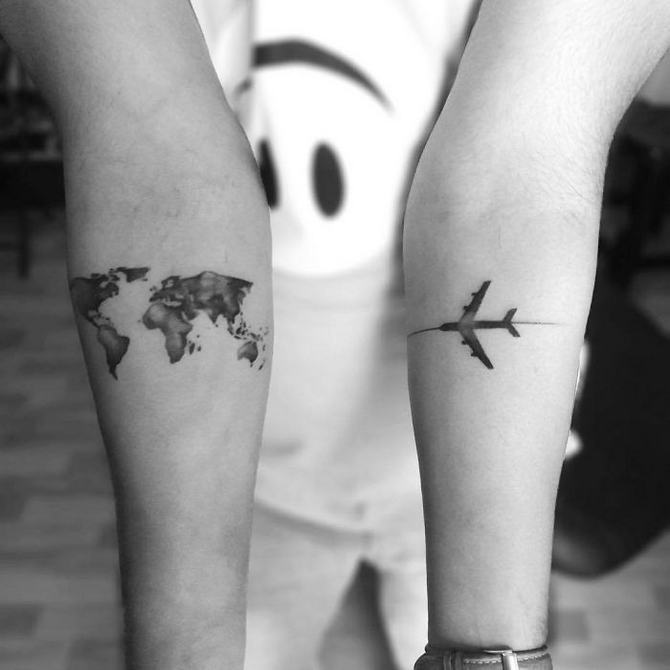 30 ideias de tatuagem de viagem que o farão querer fazer 15