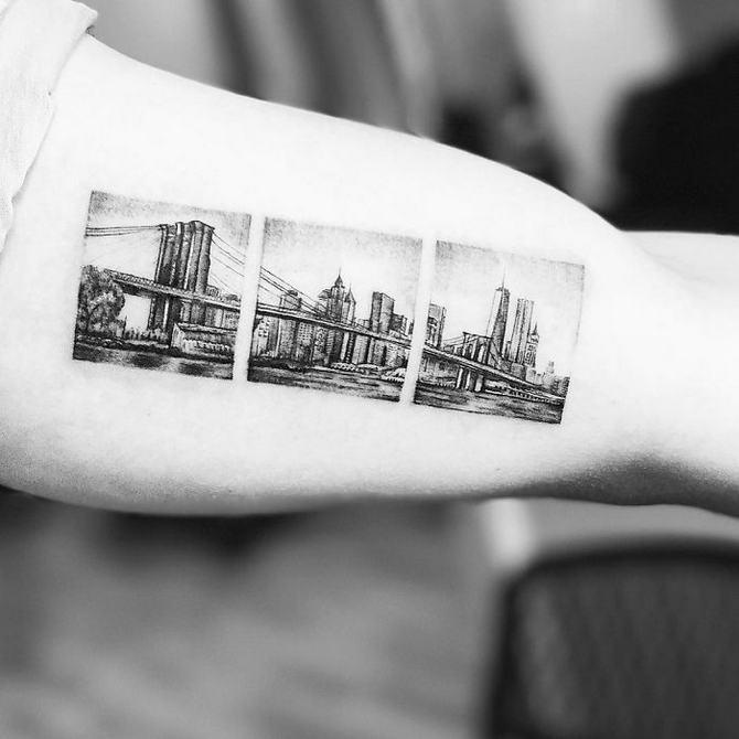 30 ideias de tatuagem de viagem que o farão querer fazer 20