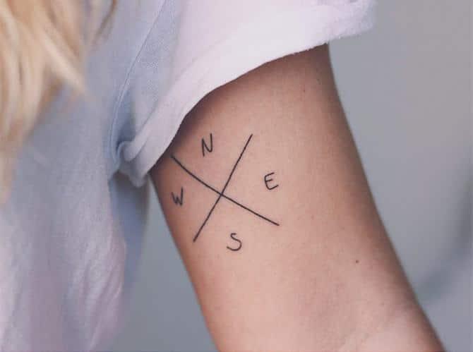 30 ideias de tatuagem de viagem que o farão querer fazer 28