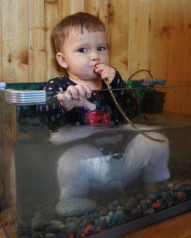 17 motivos que as crianças são seres extremamente estranho 17