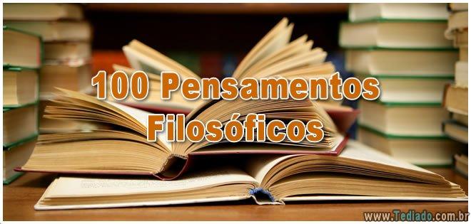 100 Pensamentos Filosóficos 2