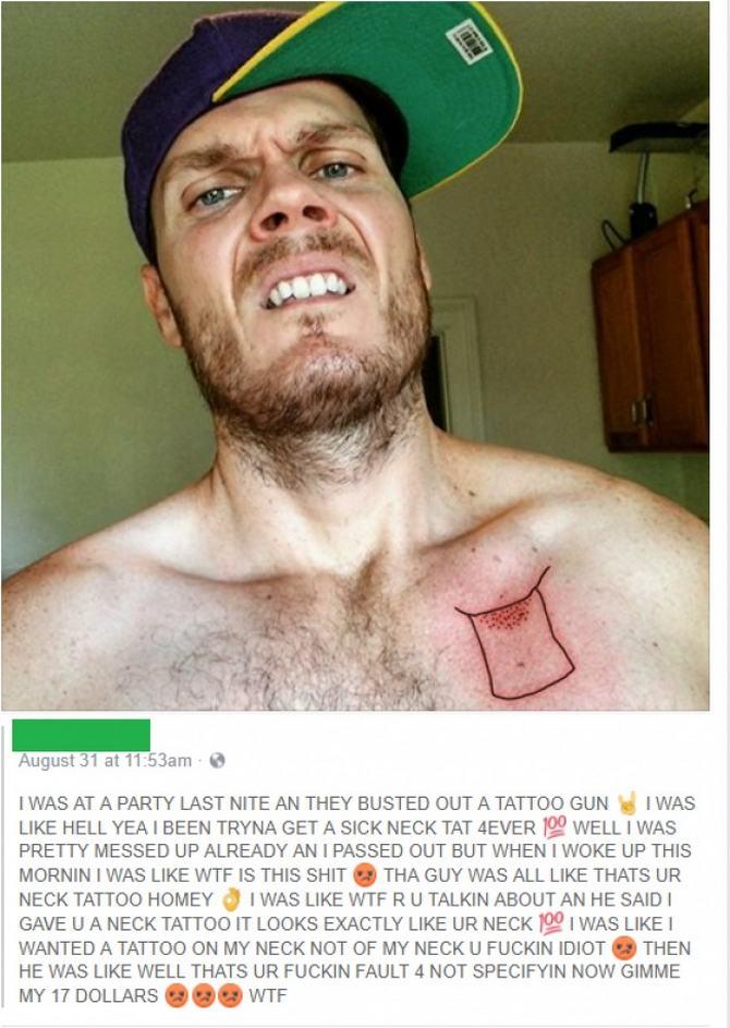 19 pessoas que deram muito errado na sua tatuagem 16