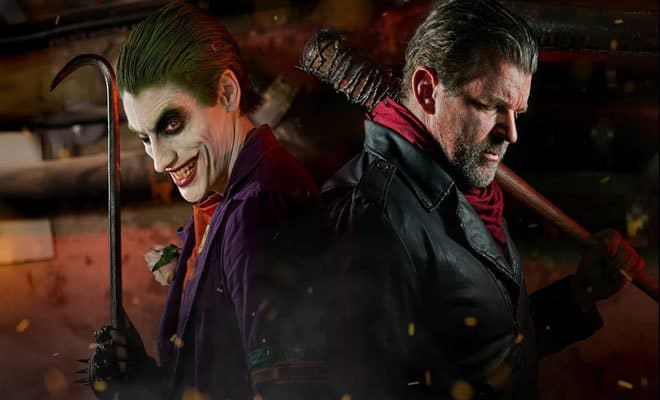 Coringa Vs Negan