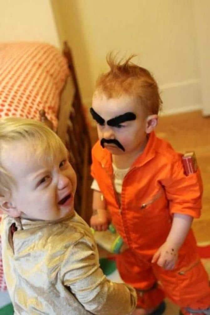 13 fotos que exploram as maneiras divertidas das crianças 9
