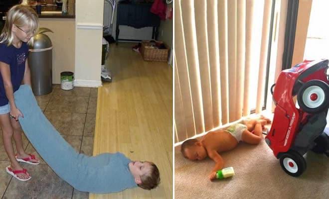 13 fotos que exploram as maneiras divertidas das crianças 6