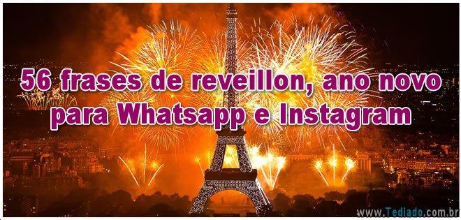 56 Frases De Reveillon Ano Novo Para Whatsapp E Instagram Blog