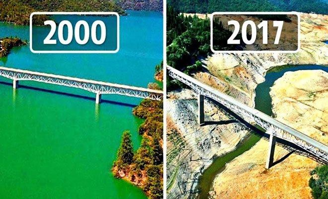 10 mudanças assustadoras na Terra em 17 anos 1