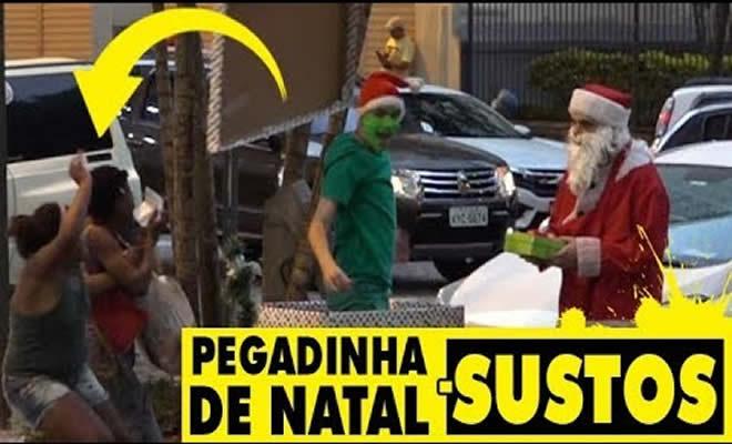 Pegadinha - Sustos de natal 7
