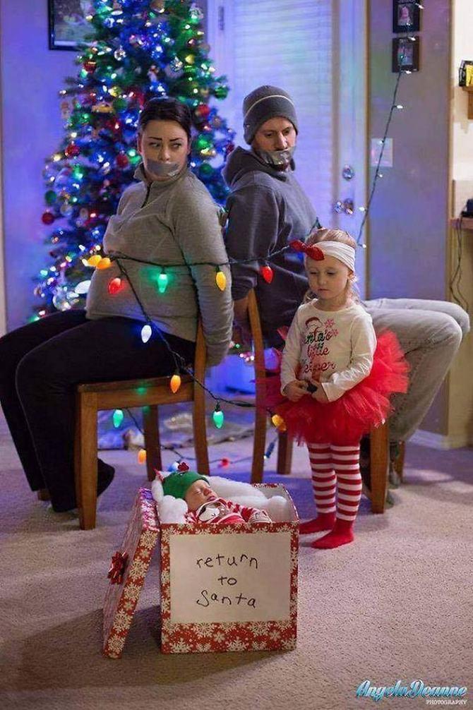 29 pessoas que enviaram os mais divertidos cartões de Natal de todos os tempos 9
