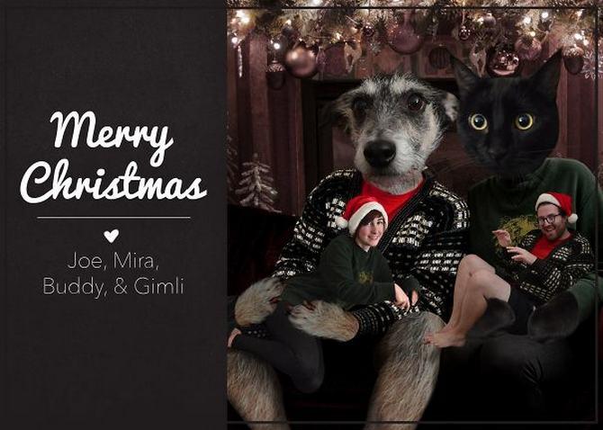 29 pessoas que enviaram os mais divertidos cartões de Natal de todos os tempos 12