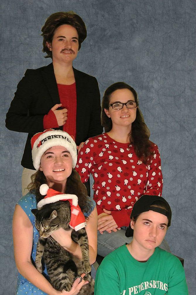 29 pessoas que enviaram os mais divertidos cartões de Natal de todos os tempos 16