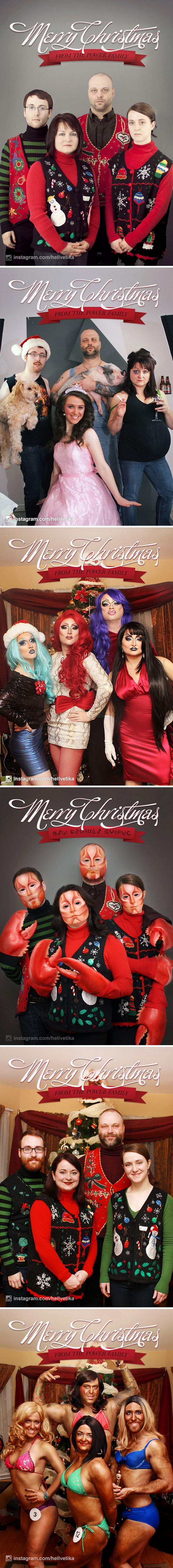 29 pessoas que enviaram os mais divertidos cartões de Natal de todos os tempos 22