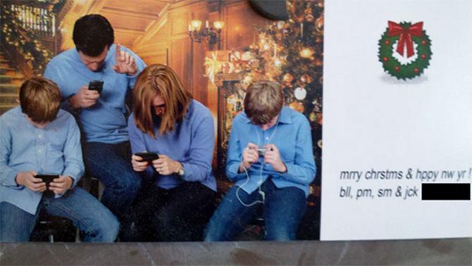 29 pessoas que enviaram os mais divertidos cartões de Natal de todos os tempos 23