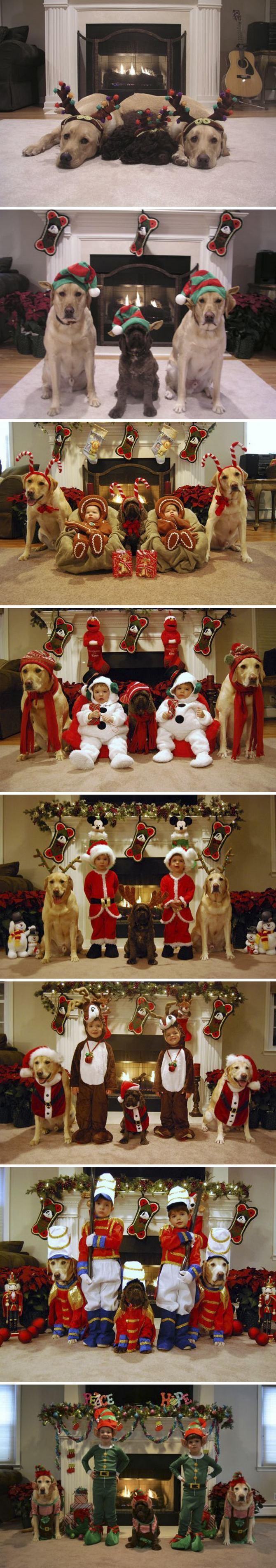 29 pessoas que enviaram os mais divertidos cartões de Natal de todos os tempos 26