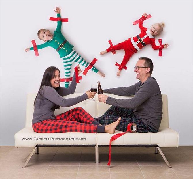 29 pessoas que enviaram os mais divertidos cartões de Natal de todos os tempos 30