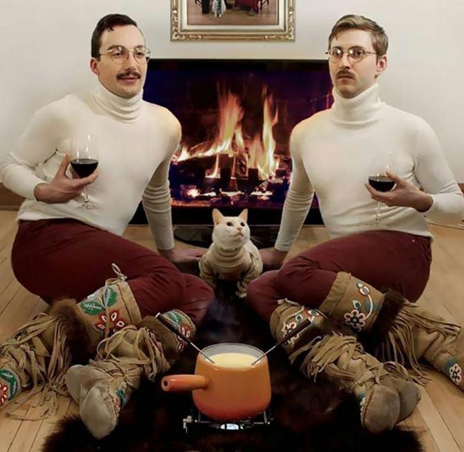 29 pessoas que enviaram os mais divertidos cartões de Natal de todos os tempos 31