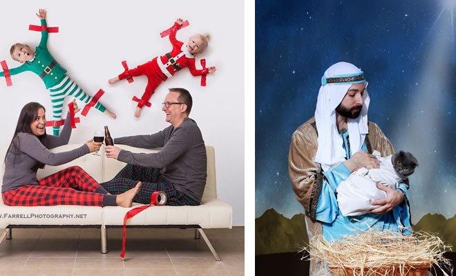 29 pessoas que enviaram os mais divertidos cartões de Natal de todos os tempos 5