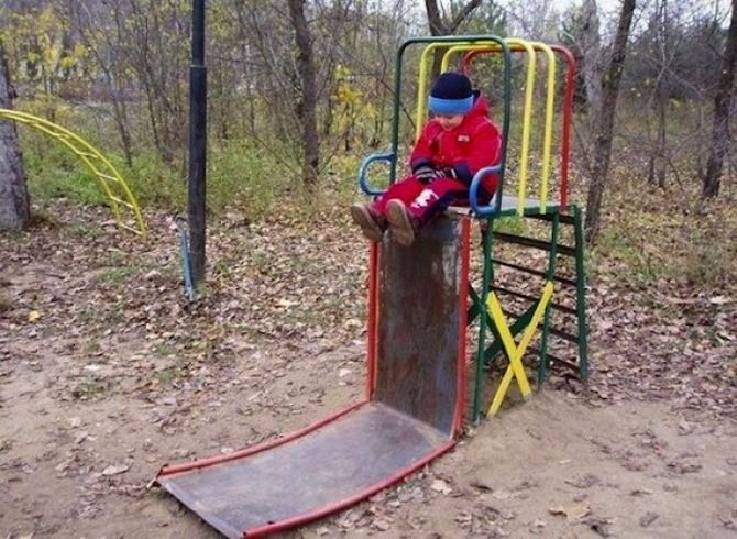18 playgrounds mais estranho que você pode encontrar 9